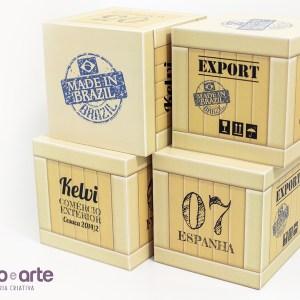 Cubos de Mesa tamanho 15x15x15cm