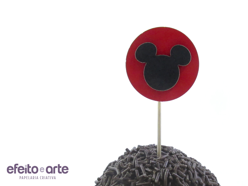5 Toppers Mickey 3D