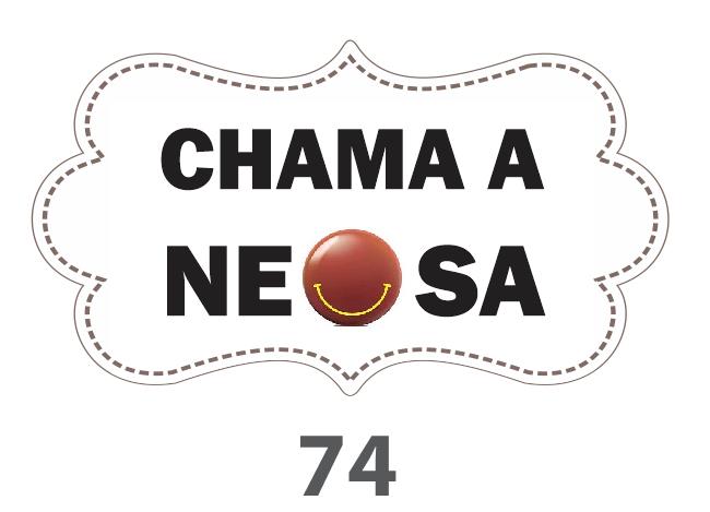 Plaquinha Divertida – Ref. 74 – Chama a neosa