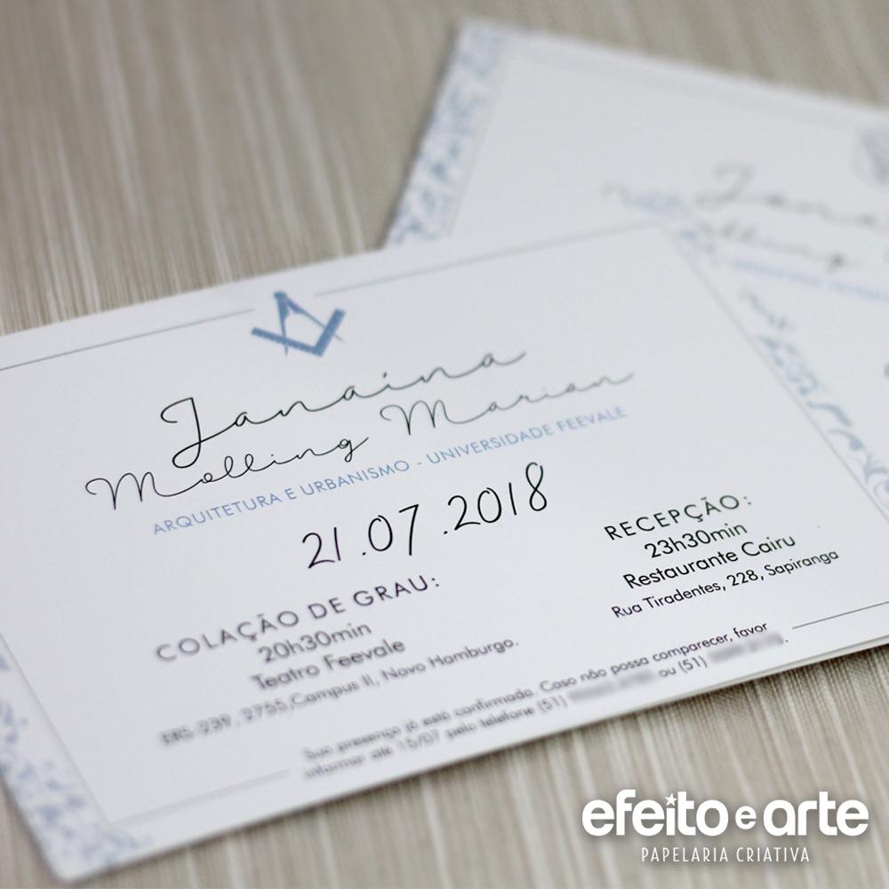 Convites Efeito E Arte Papelaria Criativa