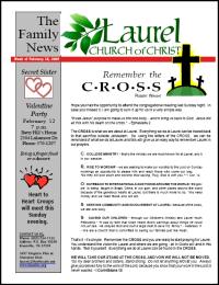 Newsletter from Laurel Church