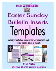 Book Club Easter About Church & Questions TEMPLATE Cover