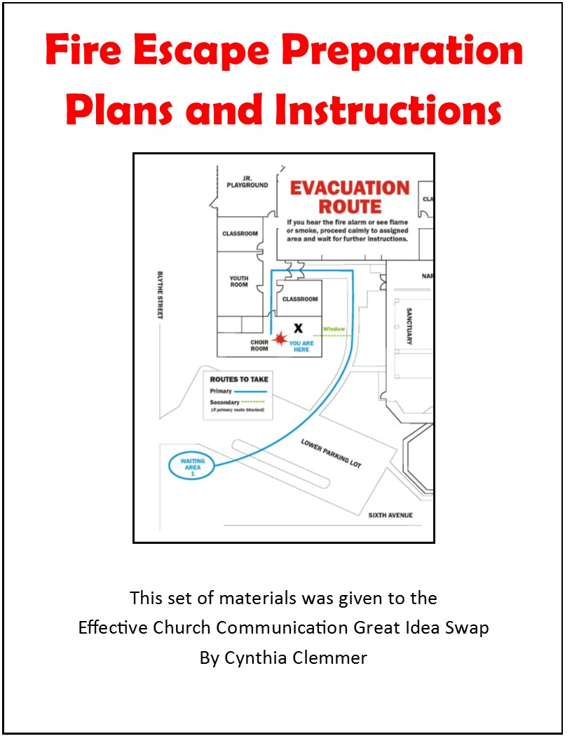 Gis fire escape plans scary to consider but essential for Fire escape plans