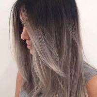 21 Najlepših Srebrno sivih ombre balayage kolora