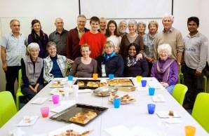 Le groupe des bénévoles du centre EVAM de Sainte-Croix, Suisse