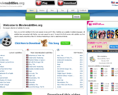 Download latest DivX & Xvid movies subtitles