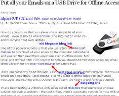 How to Easily Backup all your Email Accounts on a USB Drive