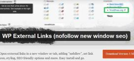 SEO For WordPress – Automatically Nofollow External Links