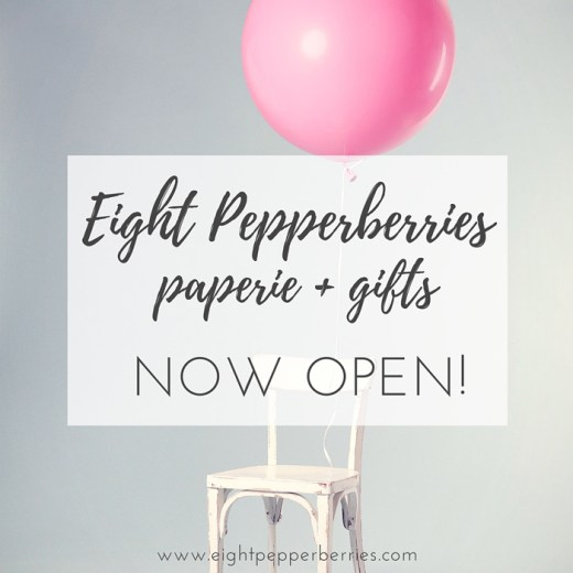 Visit the Eight Paperie + Gifts shop