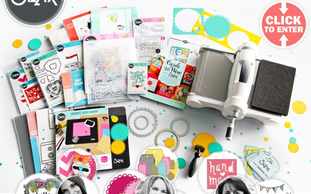 Sizzix and Scrapbook.com Giveaway!
