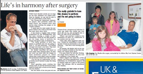 KurtX's surgery detailed in Dominion Post