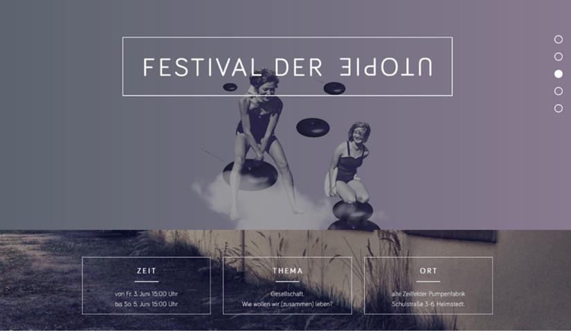 Das Festival der Utopie 2016