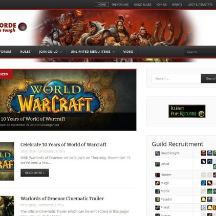 World of Warcraft Guild Hosting - The Very Best Guild Hosting 2014-09-15 13-36-32