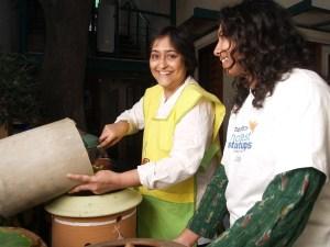 Poonam Kasturi at work