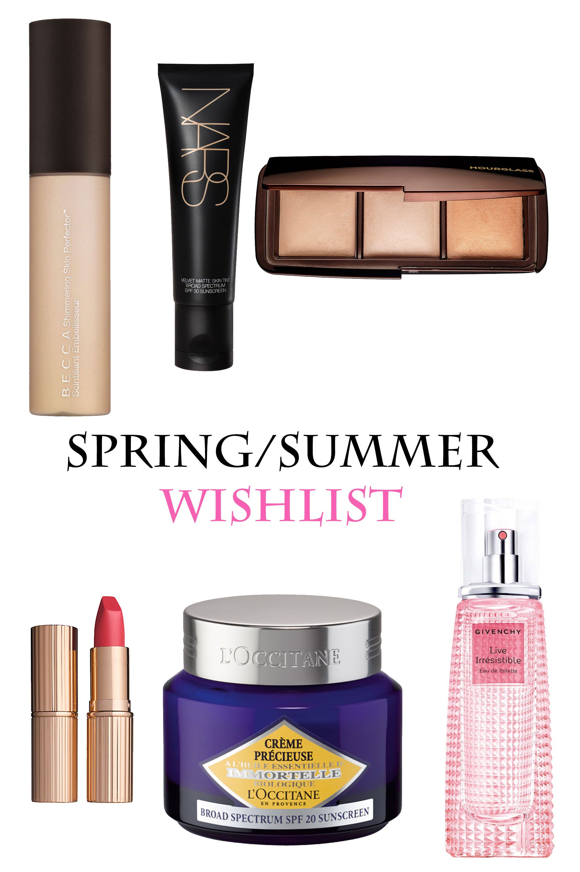 Spring and Summer Wishlist 2016