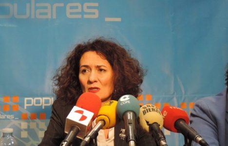Gloria Fernández Merayo, candidata por el PP a la Alcaldía de Ponferrada