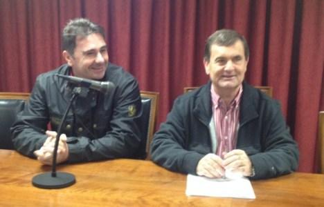 José Antonio Velasco, a la derecha, en una imagen de archivo