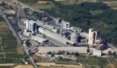 Imagen de la fábrica de Cementos Cosmos en Toral de los Vados