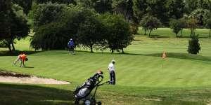 El Club de Golf continúa con sus actividades