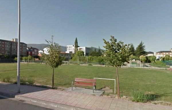 Imagen de la parcela donde está previsto ubicar el centro de salud