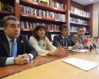 Los representantes de la Junta de Gobierno del ICAL en Ponferrada