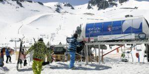 Las estaciones de esquí han tenido un fin de semana (Ical)