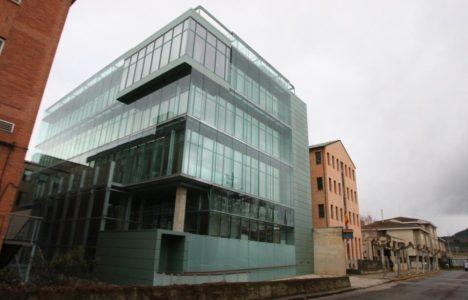 Aspecto del nuevo edificio de los Juzgados (César Sánchez / Ical)