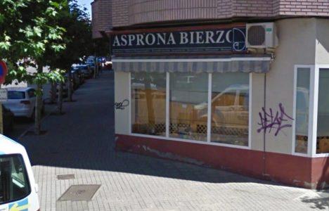 Sede de la ONG en la avenida Tercio de Flandes de Ponferrada