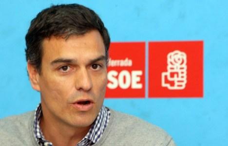 Sánchez en su última visita a Ponferrada (César Sánchez / Ical)