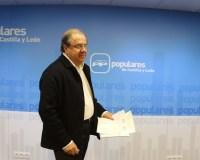 Hererra comparece ante los medios esta noche electoral (Eduardo Margareto)