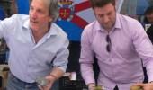 Iván Alonso, a la derecha, y Pedro Muñoz  en un acto de CB