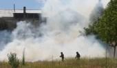 Los bomberos tardaron una hora en apagar el fuego (C. Sánchez/Ical)
