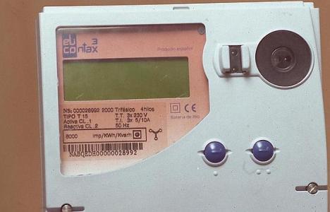 Solo el 36% de los consumidores cuenta con contadores de luz por horas integrados (foto cedida por ABC)