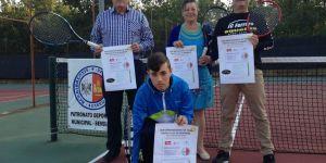 Foto presentación XVIII Open de Tenis