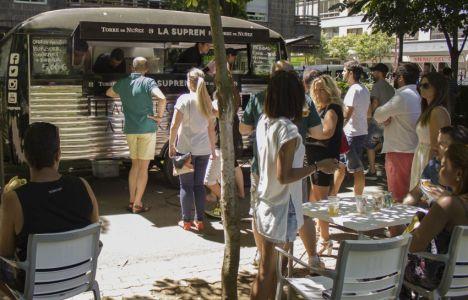 Imagen del Food Truck que llega a Ponferrada
