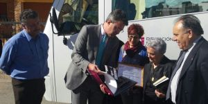 Ascensión Ramón Gómez recibe el título de socia honorara