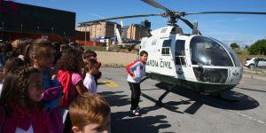 Exposición-exhibición de la Guardia Civil en Ponferrada, con motivo de la festividad de la Virgen del Pilar (C. Sánchez)