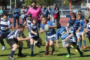 Concentración de rugby en el Colomán Trabado.