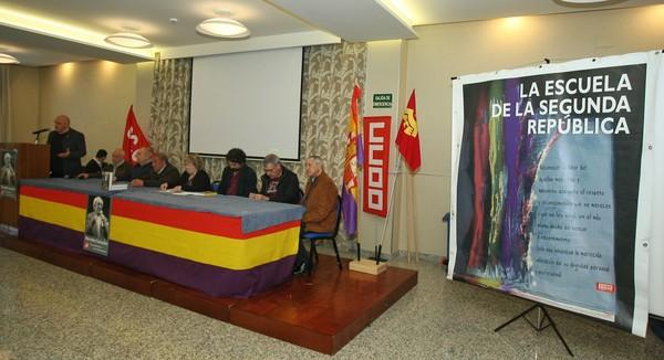 Homenaje en Ponferrada al histórico sindicalista Marcelino Camacho. (Foto: César Sánchez)