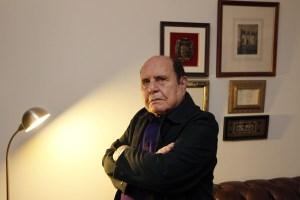 El escritor, Luis López Álvarez. (Foto: Juan Lázaro)
