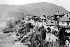 Vista parcial sobre el río Sil, una zona de la ciudad ya desaparecida (Foto: Loty. Archivo del ILC)