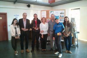 Los ganadores recibieron sus premios en la Casa Club