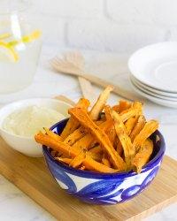 Patatas de boniato al horno