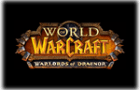 World of Warcraft - Warlords of Draenor Logo black