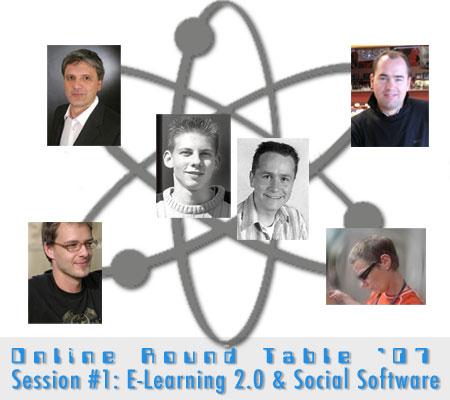Grafik zum ORT'07: E-Learning 2.0 - 1. Termin