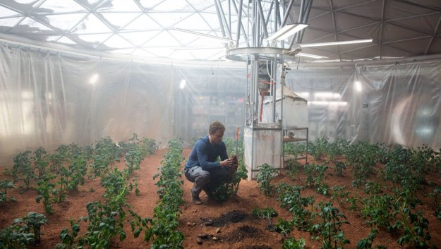 The Martian Kartoffelanbau
