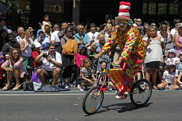 clown pedal