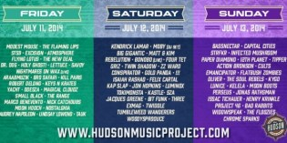 The Hudson Project: Sleeper Pick for Best East-Coast Festival of '14