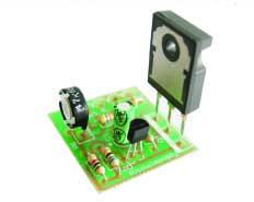 Foto 6. Deberemos de respetar la polaridad del Transistor Q1