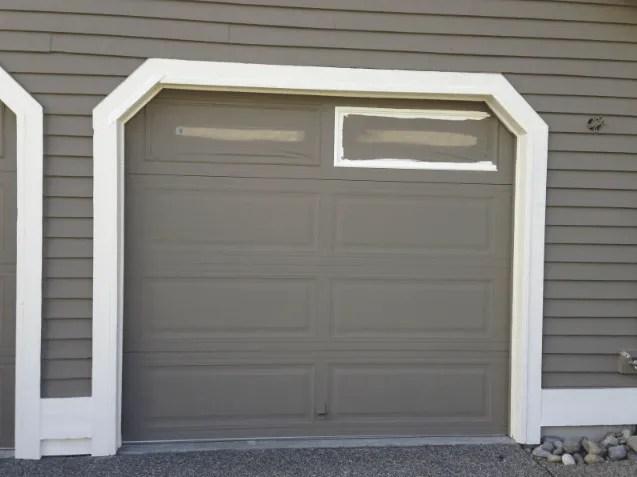Garage Door Window Trim Superb Garage Door Trim Ideas 6